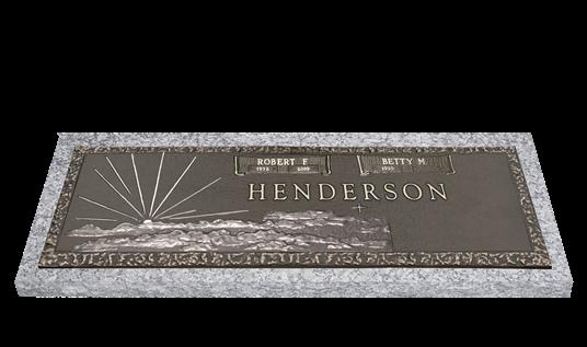 Morning Star memorials from Hindman Funeral Homes, inc