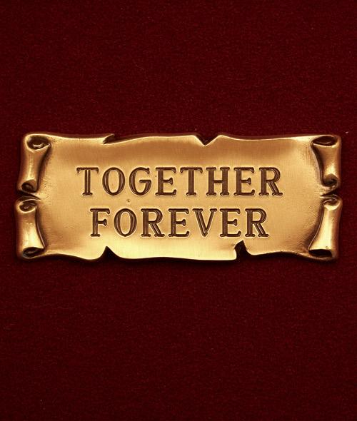 Together Forever Scroll
