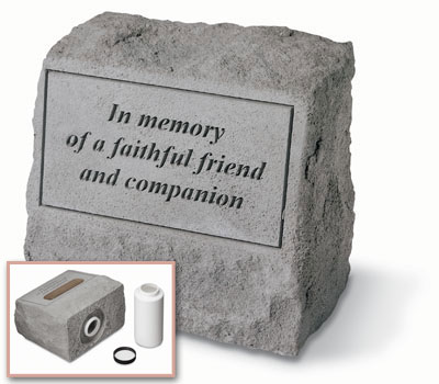 AA93620 Pet memorial from Hindman Funeral Homes, Inc.